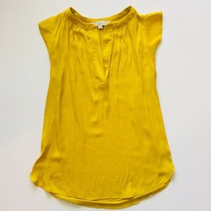 Lift Mustard Yellow Blouse